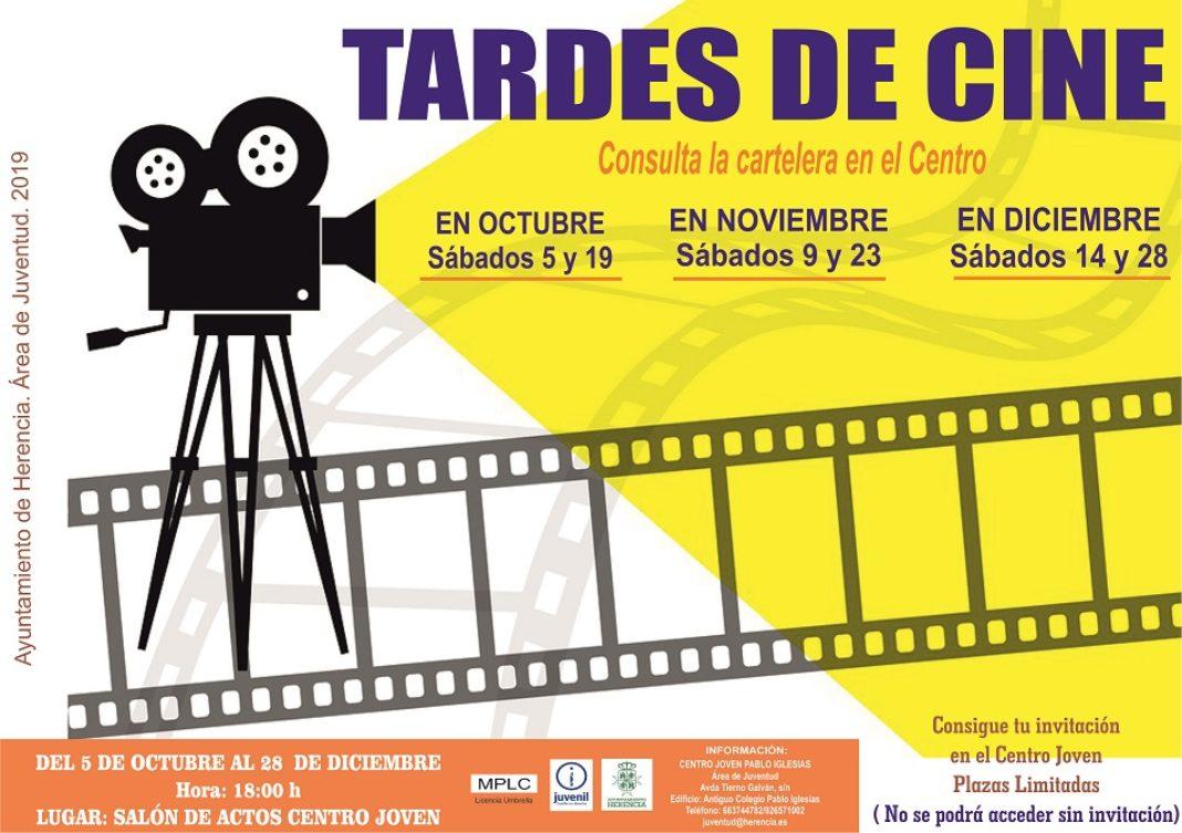 tardes de cine en el centro joven pablo iglesias 1068x753 - Tardes de cine los sábados en el Centro Joven las tardes de sábado de otoño