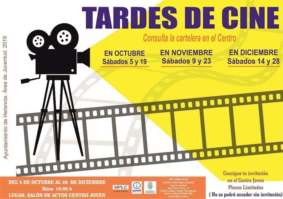 tardes de cine en el centro joven pablo iglesias - Tardes de cine los sábados en el Centro Joven las tardes de sábado de otoño