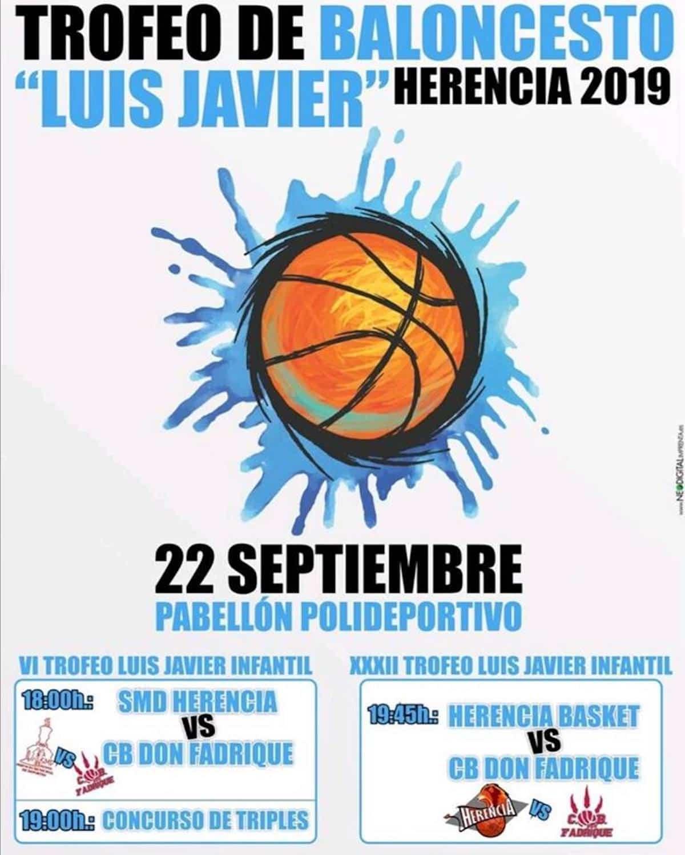 """Presentado el Trofeo de Baloncesto """"Luis Javier"""" de Feria y Fiestas 6"""