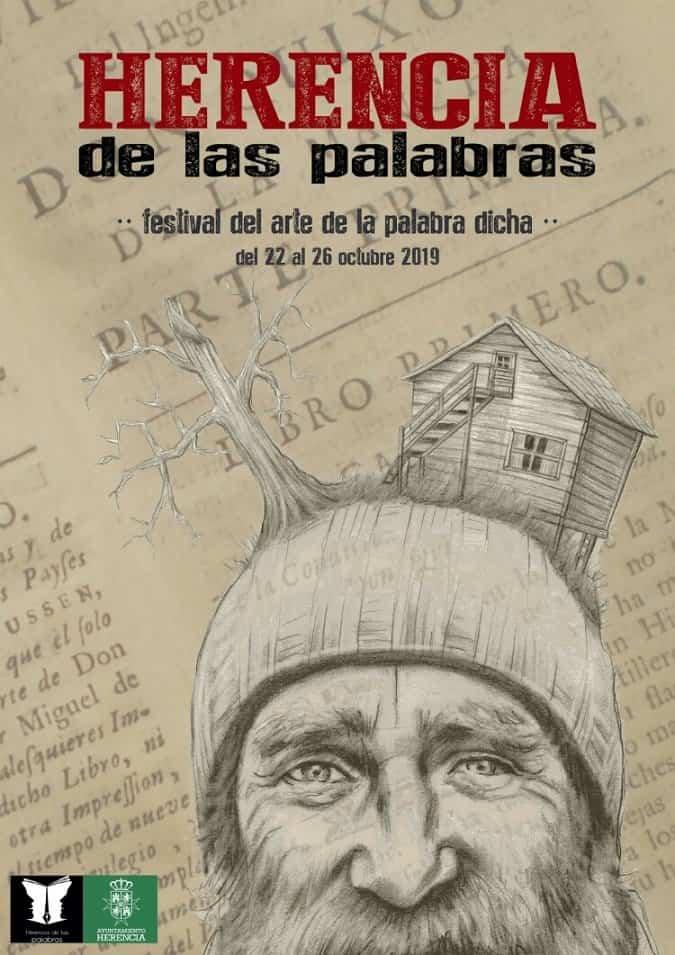 Cartel Herencia de las Palabras - Espectáculos de narración oral para jóvenes y adultos en Herencia de las Palabras