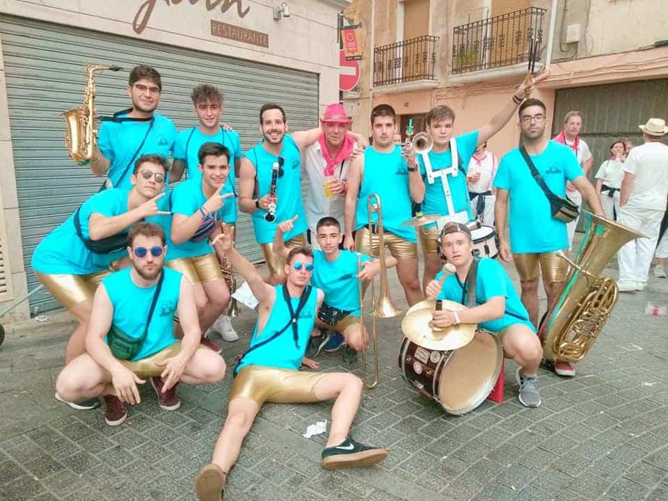 Charanga Staccazzo - La charanga Staccazzo elegida para animar la 24 Quijote Maratón de Ciudad Real