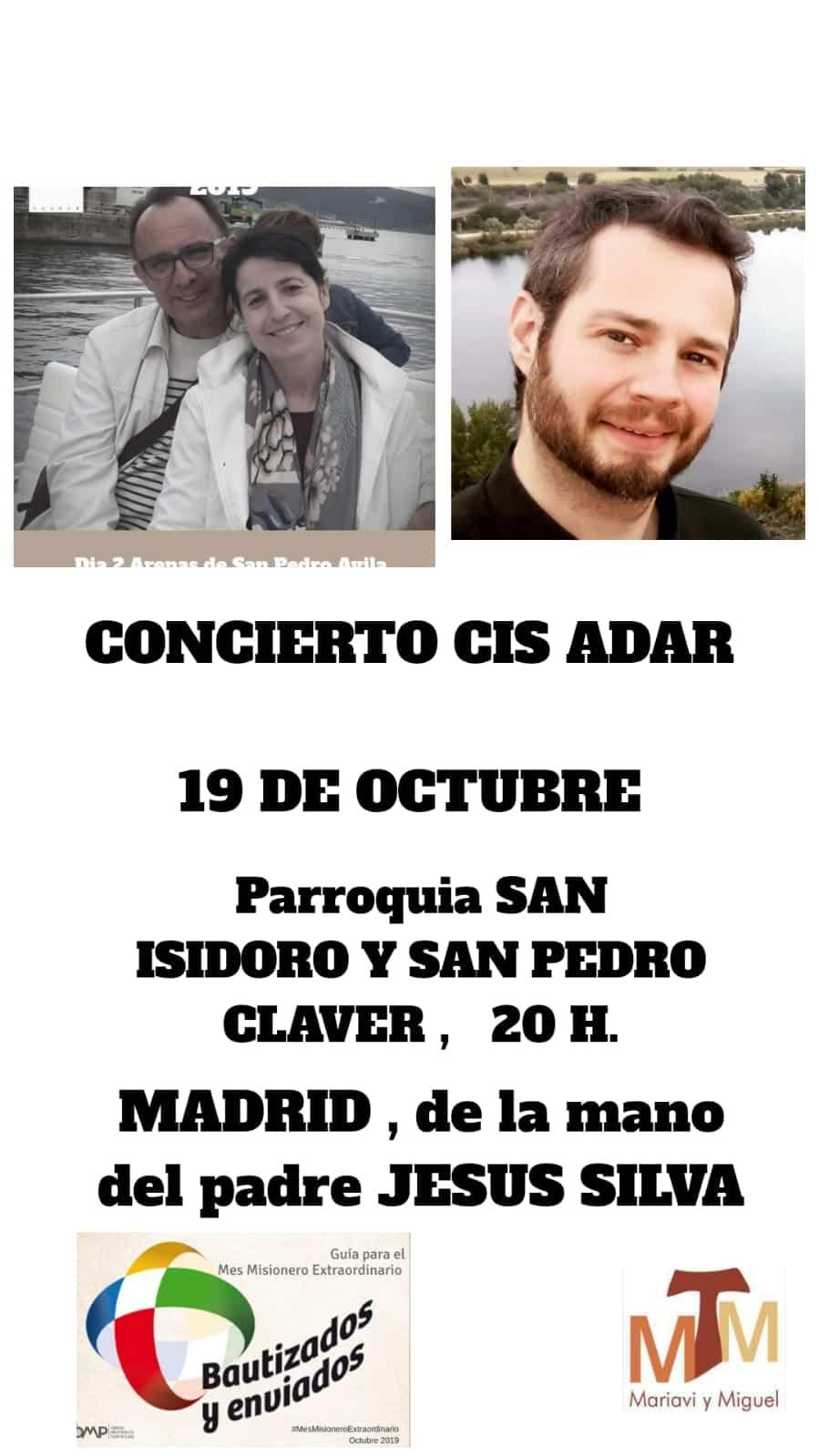Concierto de Cis Adar en Madrid - Concierto de Cis Adar en Madrid