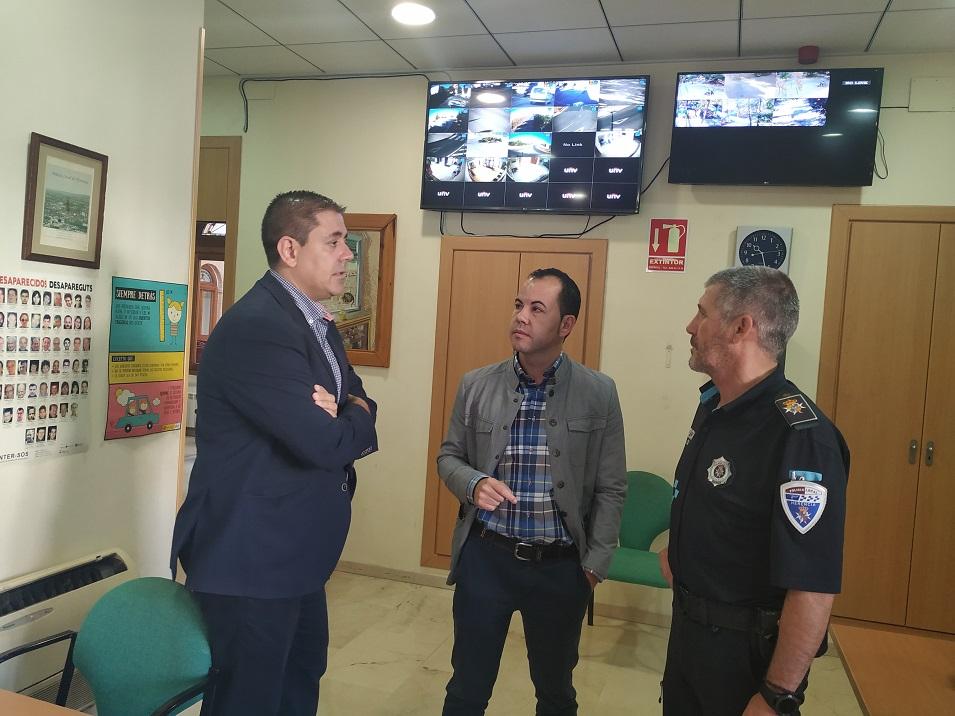 Herencia contar%C3%A1 con m%C3%A1s c%C3%A1maras videovigilancia en el municipio - Herencia contará con más cámaras videovigilancia en el municipio