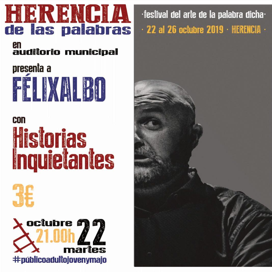 Herencia de las palabras 1068x1068 - Herencia acogerá el festival del arte de la palabra dicha