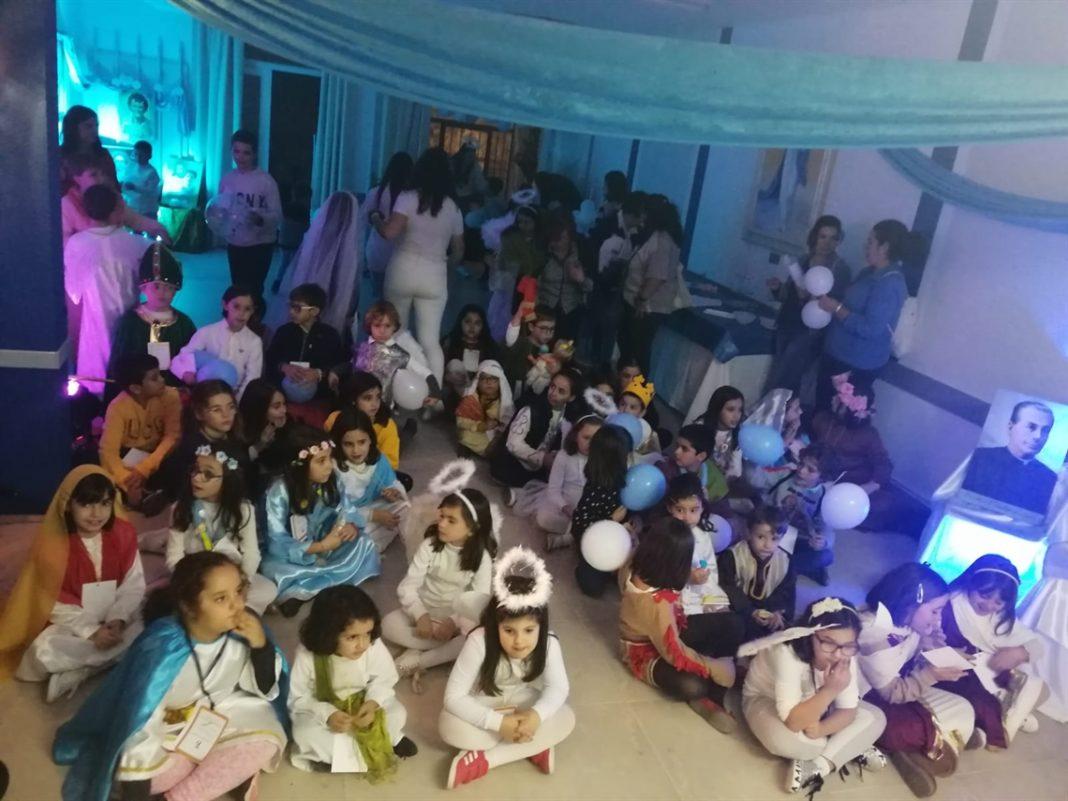 Herencia celebró con los niños Todos Los Santos 22