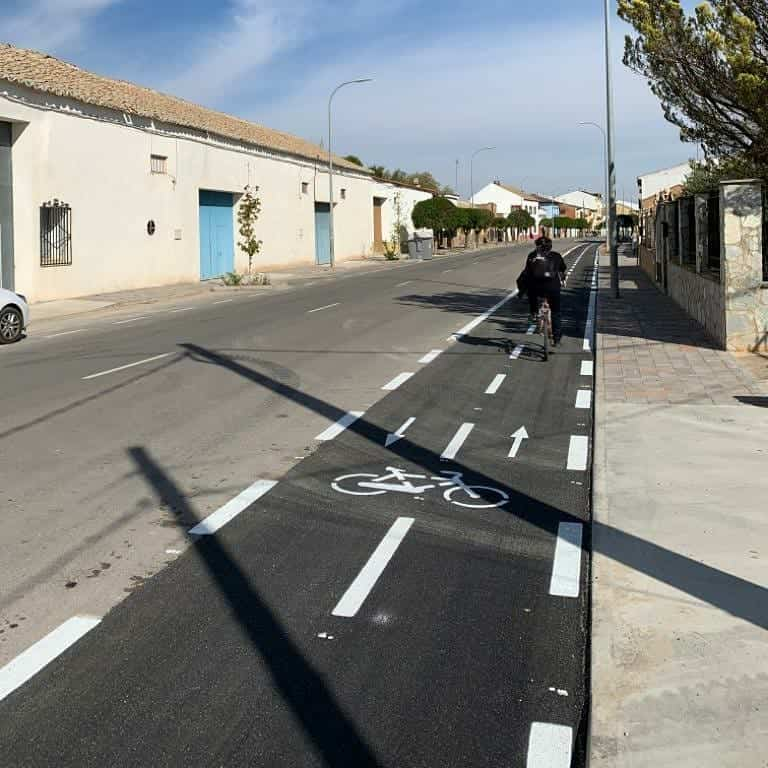 carril bici Herencia3 - Herencia ya cuenta con una primera parte de su carril bici