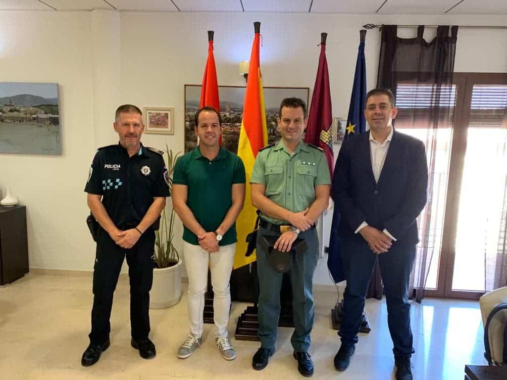 dia del pilar herencia - La Guardia Civil honra a su patrona arropada por el calor y afecto de los herencianos