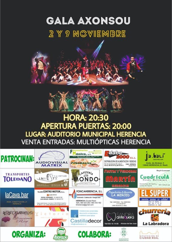 gala Axonsou 2019 1068x1501 - Doble edición de la Gala Axonsou 2019 en Herencia