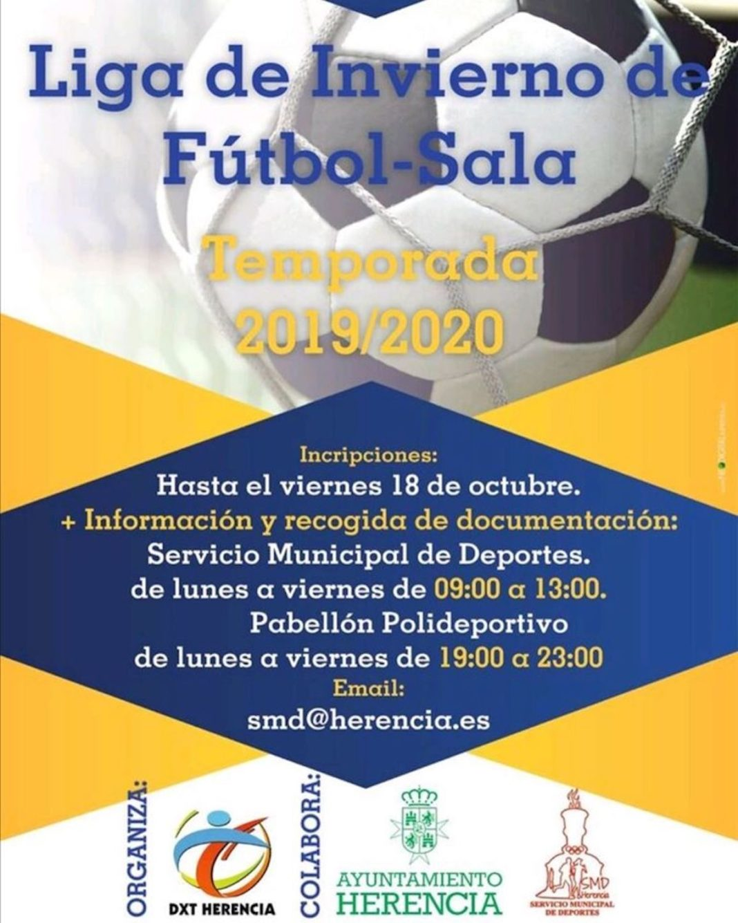 Liga de invierno de Fútbol-Sala para 2019/2020 4
