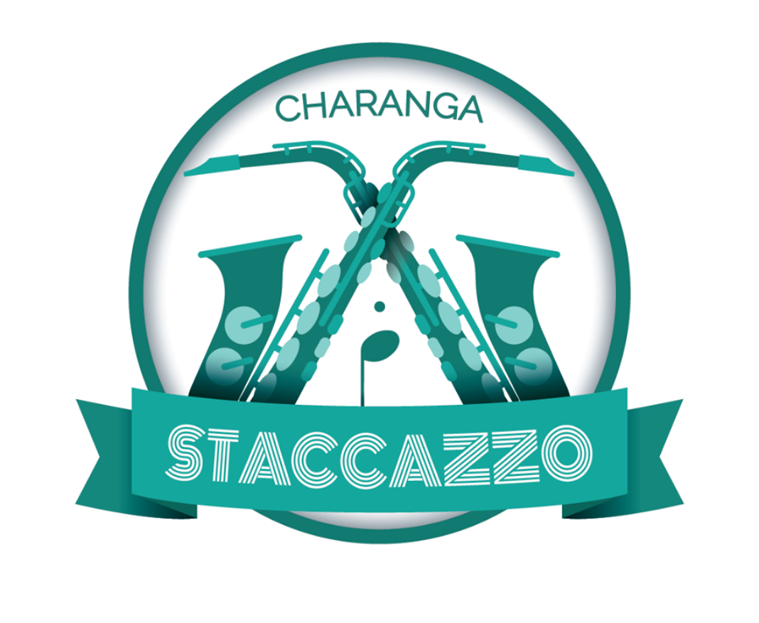 logo charanga Staccazzo 1068x877 - La charanga Staccazzo elegida para animar la 24 Quijote Maratón de Ciudad Real