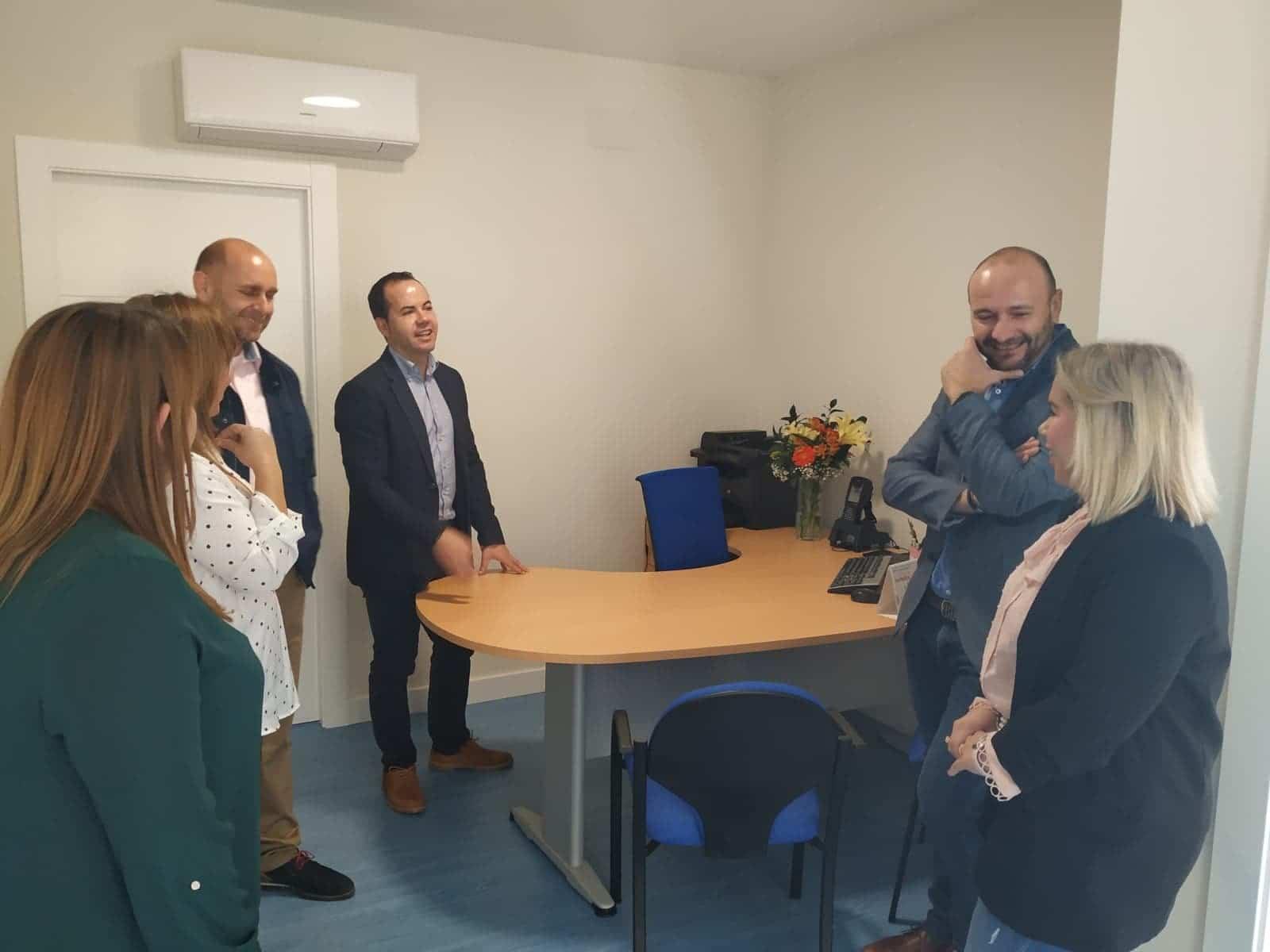 nueva sede emaser herencia 2 - Inaugurada la nueva oficina del Servicio de Aguas Emaser en Herencia