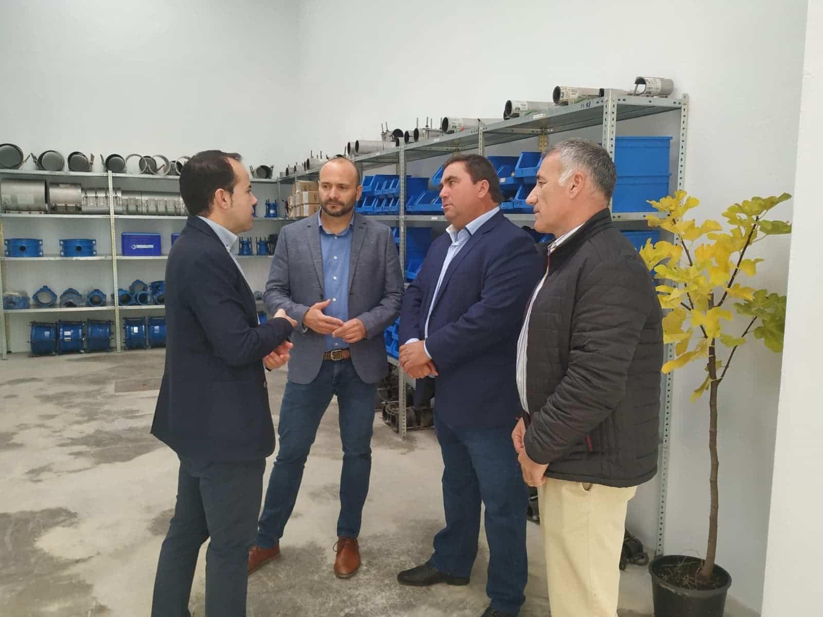 Inaugurada la nueva oficina del Servicio de Aguas Emaser en Herencia 8