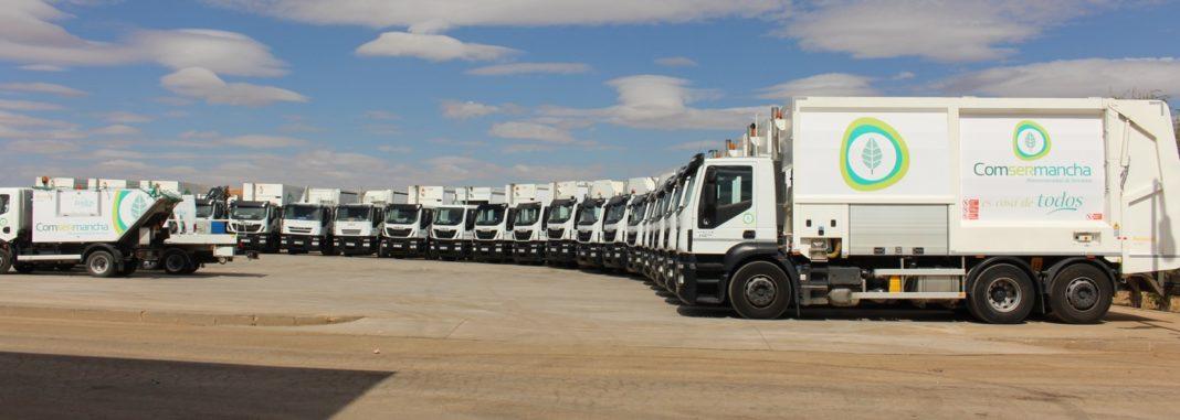 slide camiones 1068x381 - Comsermancha adapta sus ordenanzas al Plan de Gestión de Residuos Urbanos de Castilla-La Mancha