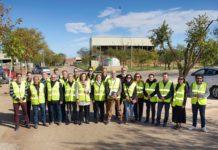 La Corporación de Comsermancha visita la planta de RSU