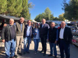 Campaña preelectoral partido popular herencia 318x239 - Encuentro comarcal del Partido Popular con Paco Ñúñez en Herencia