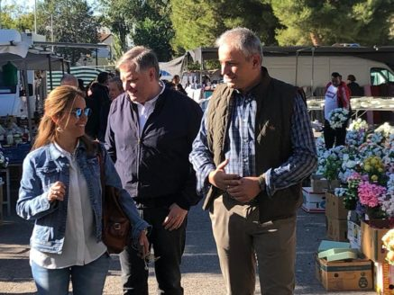Campaña preelectoral partido popular herencia5 437x328 - Encuentro comarcal del Partido Popular con Paco Ñúñez en Herencia