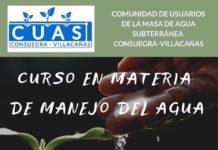 CUAS organiza un curso en Materia de Manejo del Agua