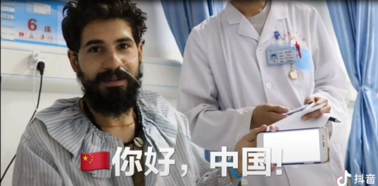 Elías Escribano llega a Laos tras estar ingresado en un hospital chino 42