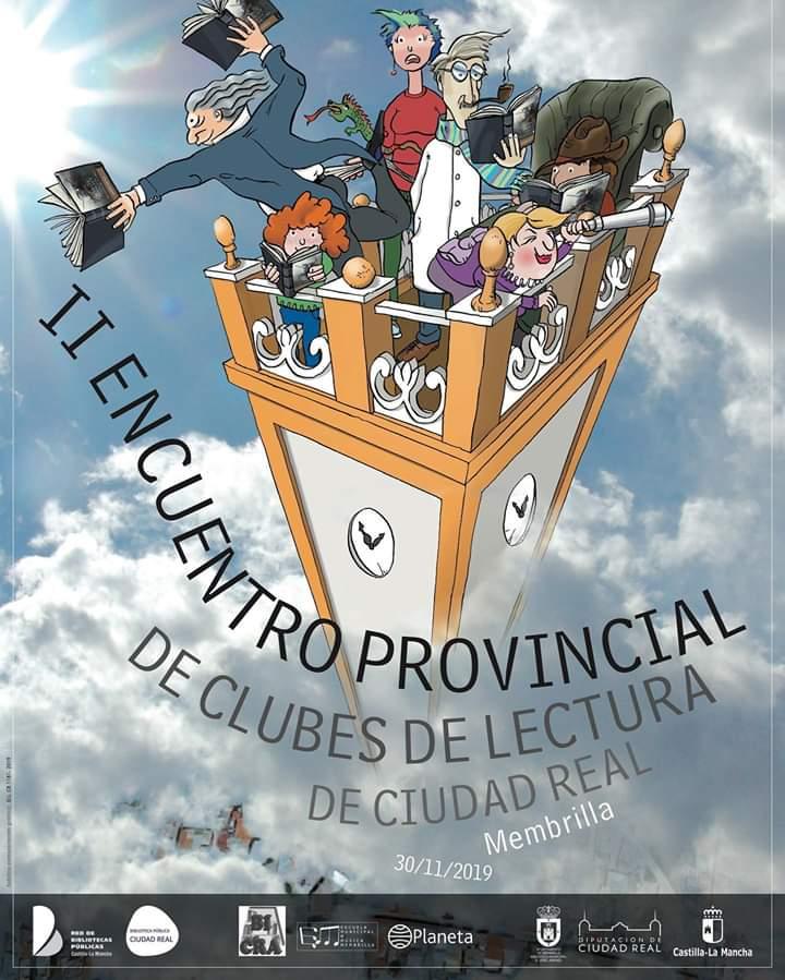 II Reunión Provincial de Clubs de Lectura de Ciudad Real - Todavía está abierta la inscripción para el II Encuentro Provincial de Clubes de Lectura