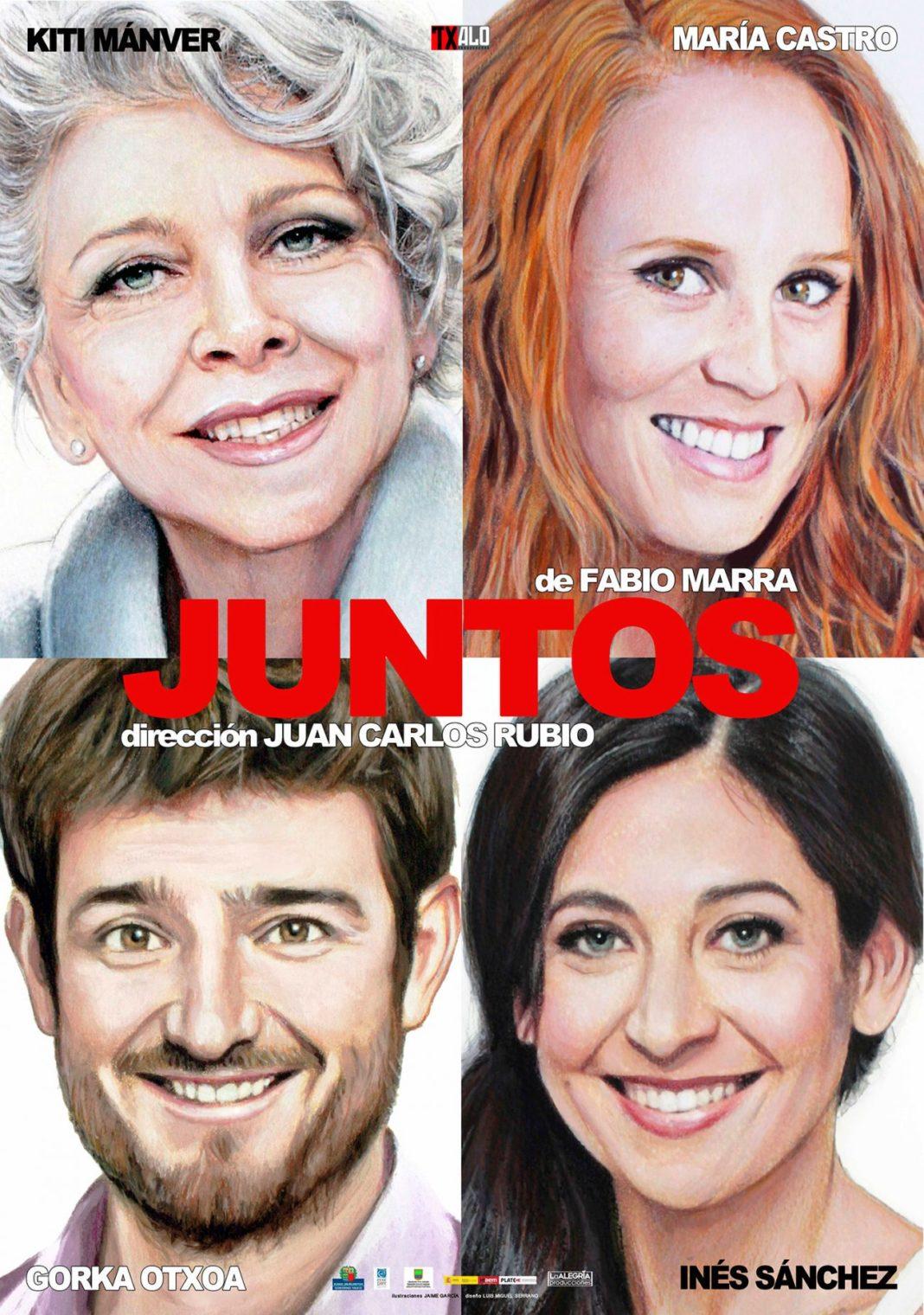 JUNTOS cartelampliado C 1300x1850 1068x1520 - El domingo 15 de diciembre llega al Auditorio Municipal la obra de teatro «Juntos»
