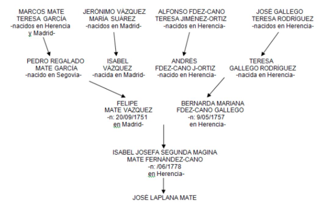 La familia Laplana-Mate 13