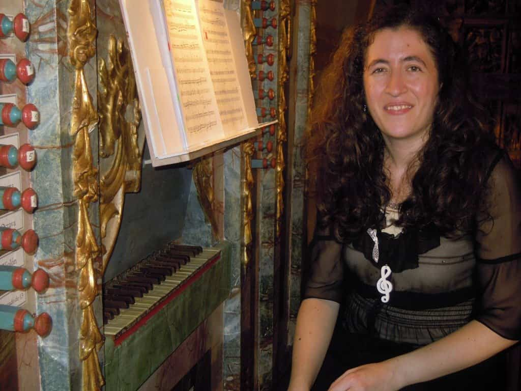 María de los Ángeles Jaén Morcillo dará un concierto en el órgano barroco de Herencia - María de los Ángeles Jaén Morcillo dará un concierto en el órgano barroco de Herencia