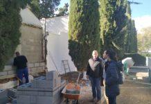 Comienza la primera fase de obras de mejora en el Cementerio Municipal