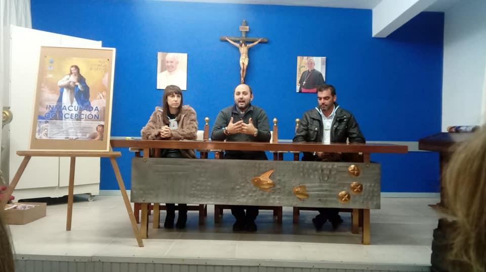 Presentado el cartel y el programa de actos de las fiestas patronales de la Inmaculada Concepción - Presentado cartel y actos de las fiestas patronales de la Inmaculada Concepción