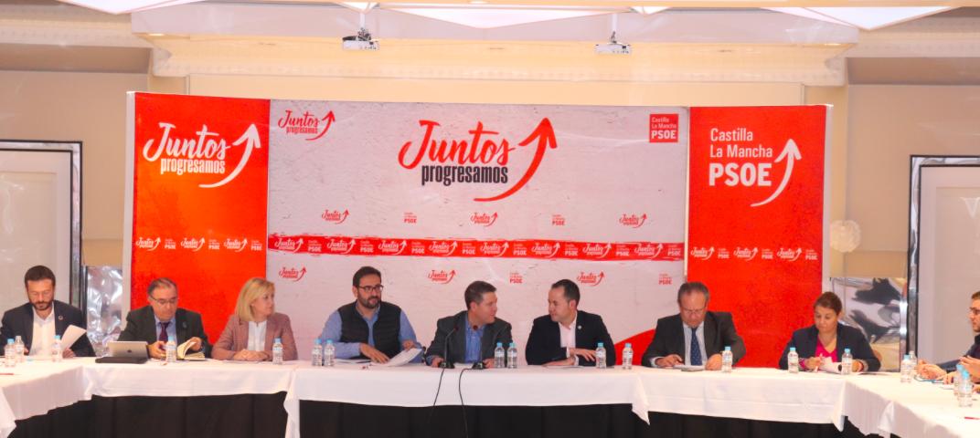 Reuni%C3%B3n de la Ejecutiva Regional - Herencia acogió una reunión de la Ejecutiva Regional del PSOE