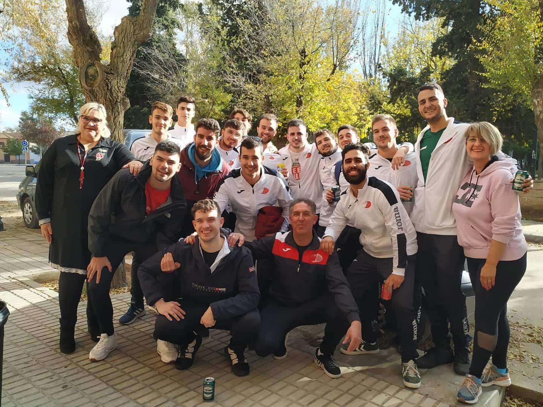 SMD CBM Quijote se enfrentó al Villarrobledo de balonmano 3