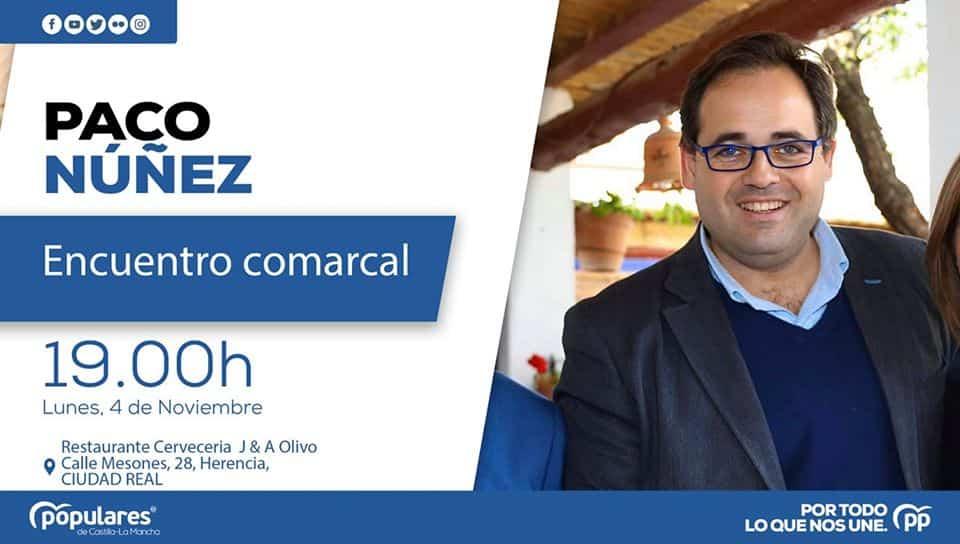 Encuentro comarcal del Partido Popular con Paco Ñúñez en Herencia 15