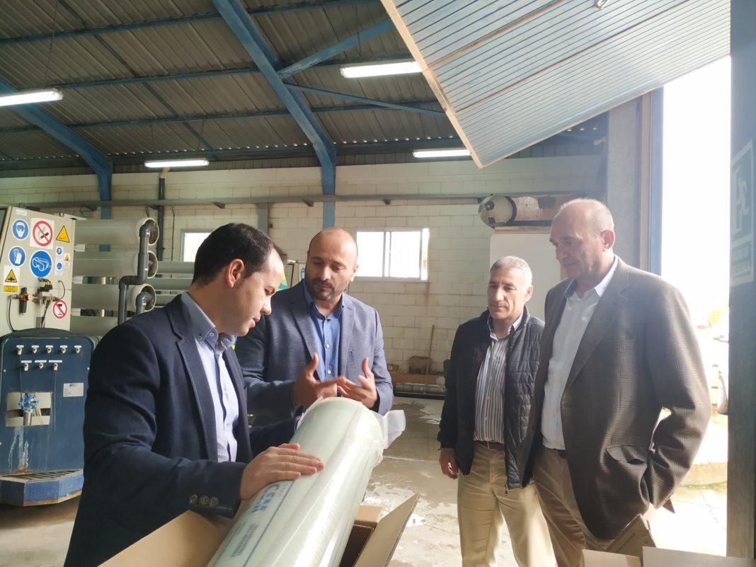 Se sustituyen las membranas de nanofiltración en la Potabilizadora del Servicio Municipal de Aguas de Herencia 7