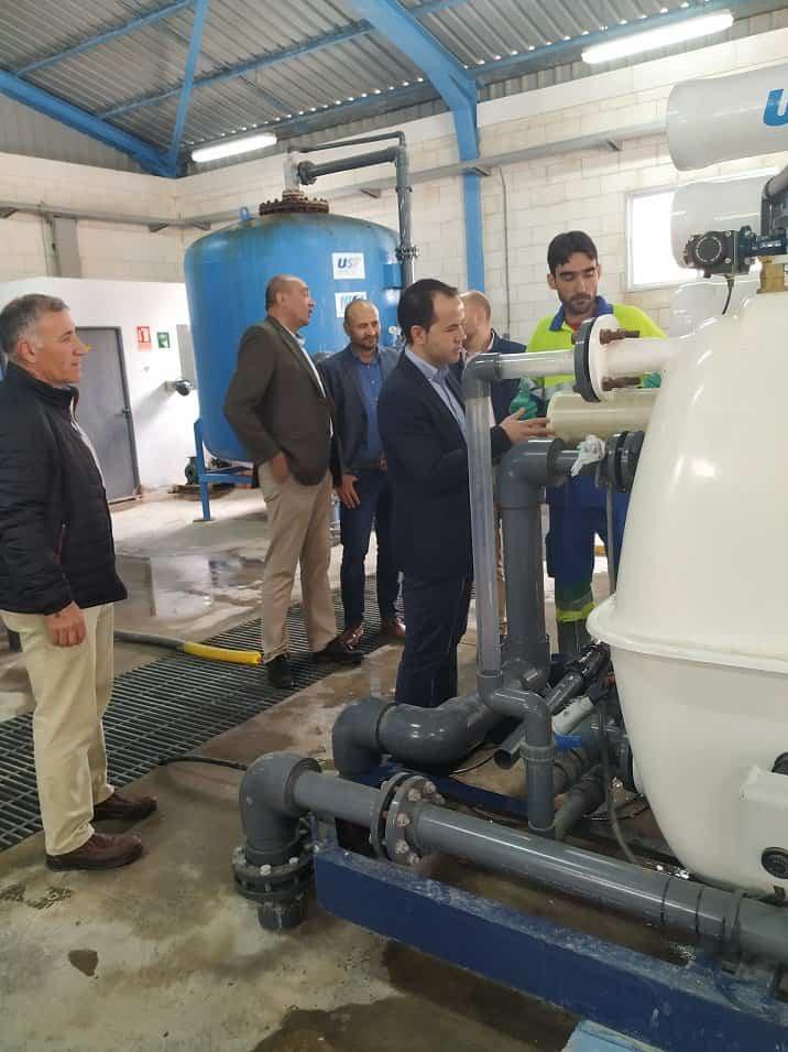 Se sustituyen las membranas de nanofiltración en la Potabilizadora del Servicio Municipal de Aguas de Herencia 6