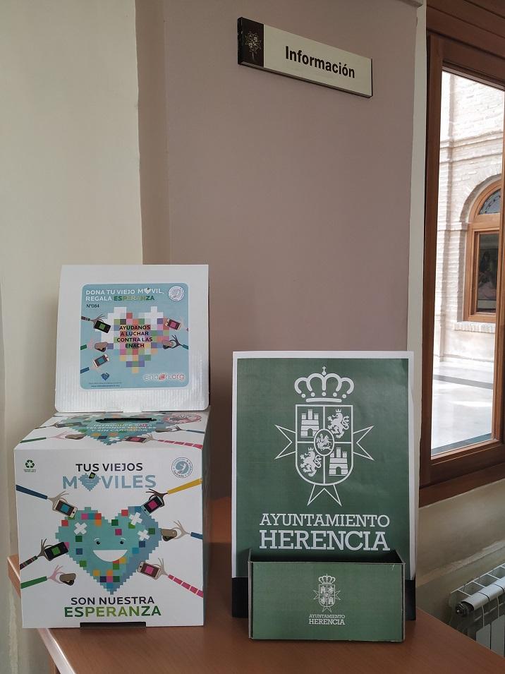 campaña adquirida por el Ayuntamiento con ENACH Asociación - El Ayuntamiento de Herencia colabora con la asociación ENACH