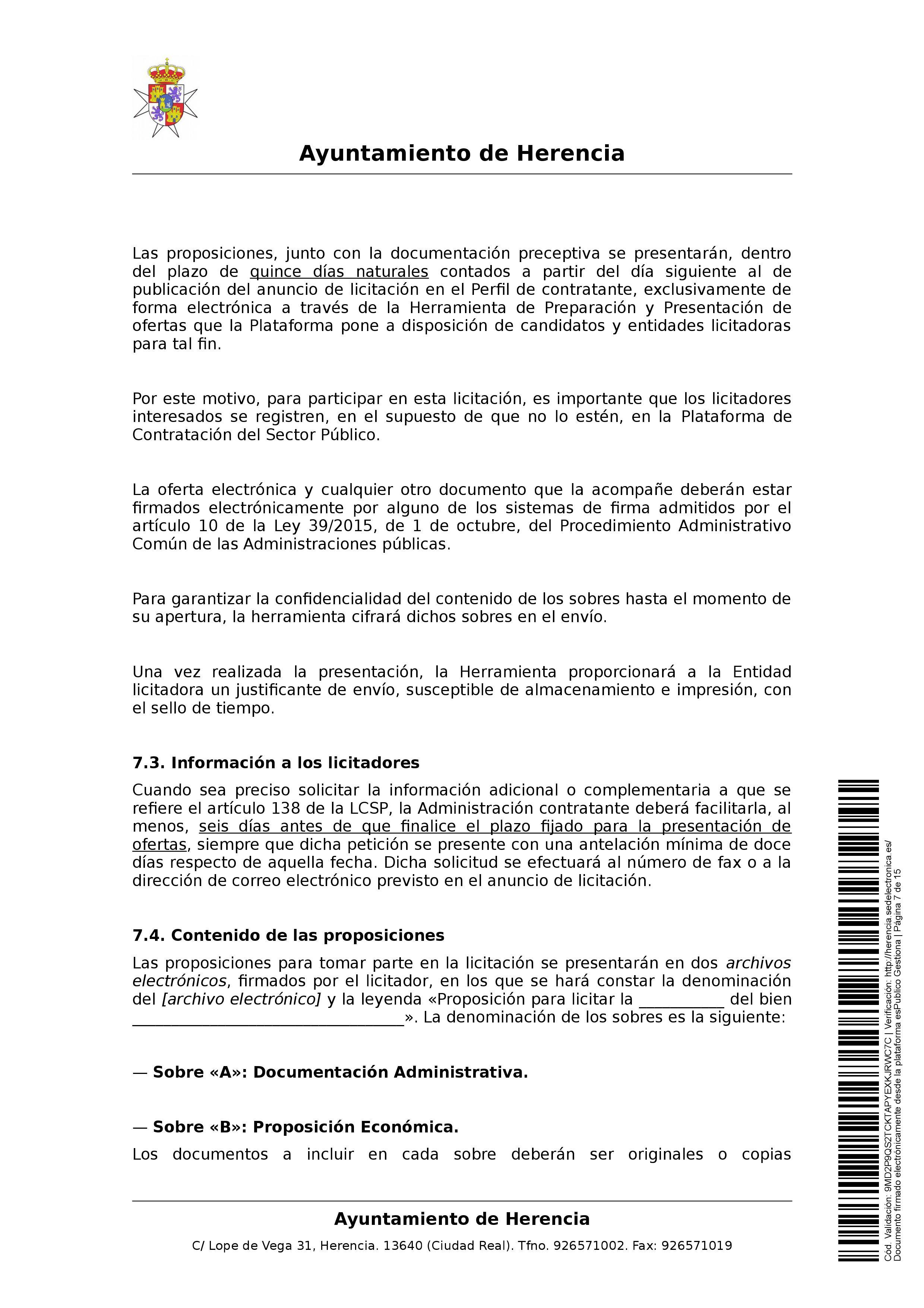 clausulas administrativa subasta parcelas 0007 - Herencia pone 8 parcelas residenciales a subasta para obtener más ingresos