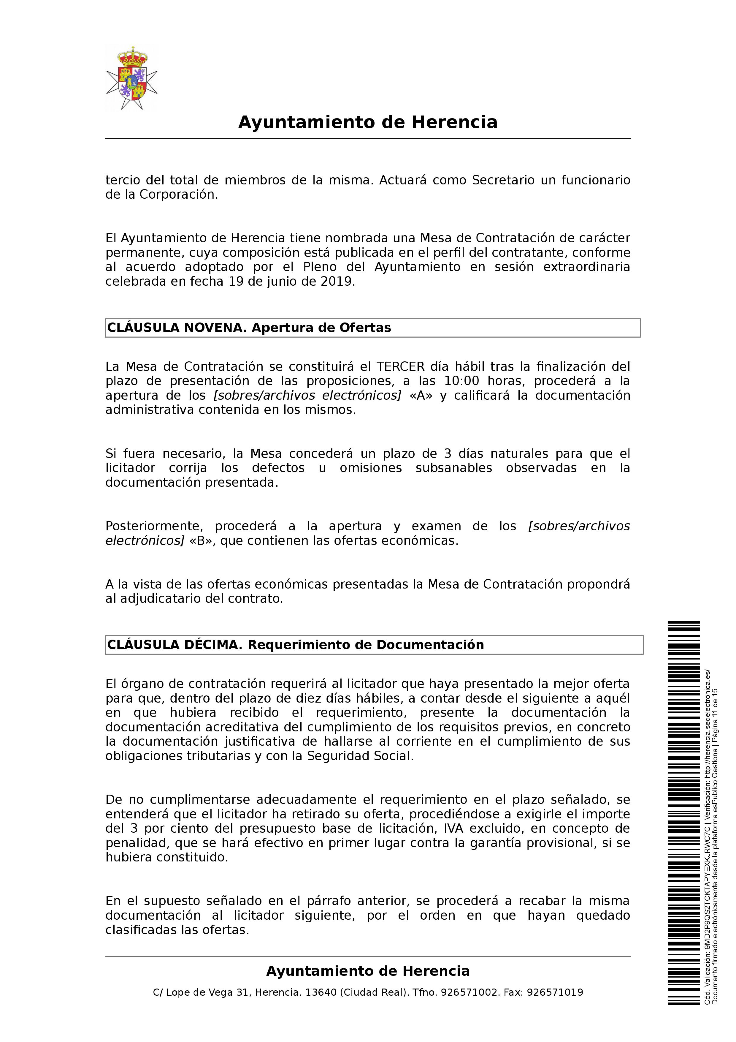 clausulas administrativa subasta parcelas 0011 - Herencia pone 8 parcelas residenciales a subasta para obtener más ingresos