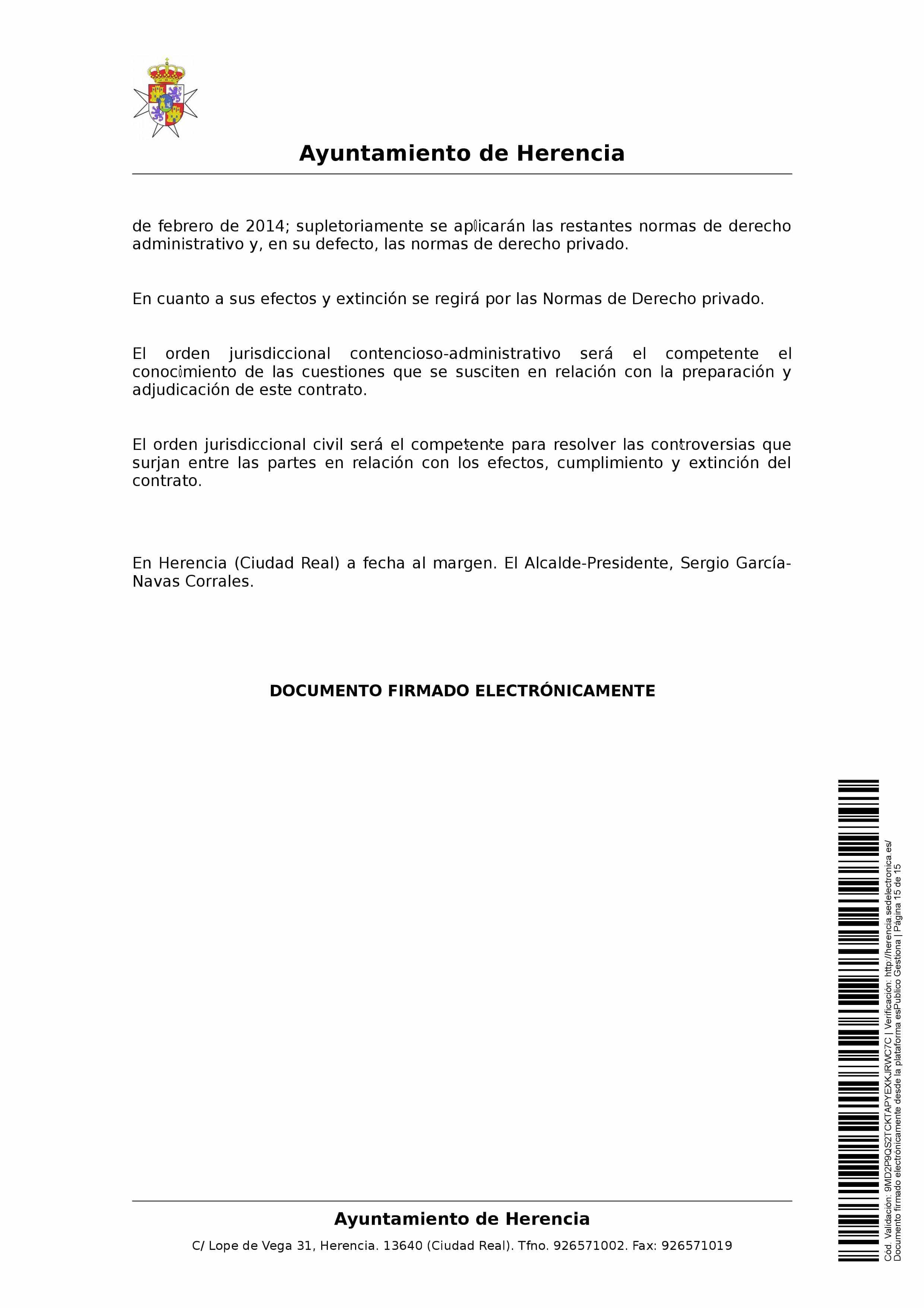 clausulas administrativa subasta parcelas 0015 - Herencia pone 8 parcelas residenciales a subasta para obtener más ingresos