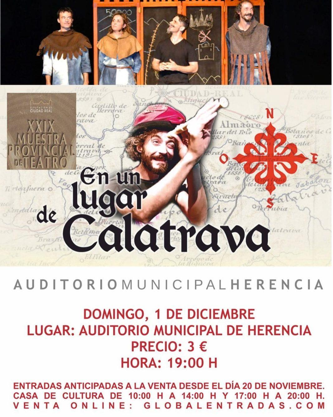 """En un lugar de Calatrava"" en gala final de la XXIX Muestra Provincial de Teatro 4"
