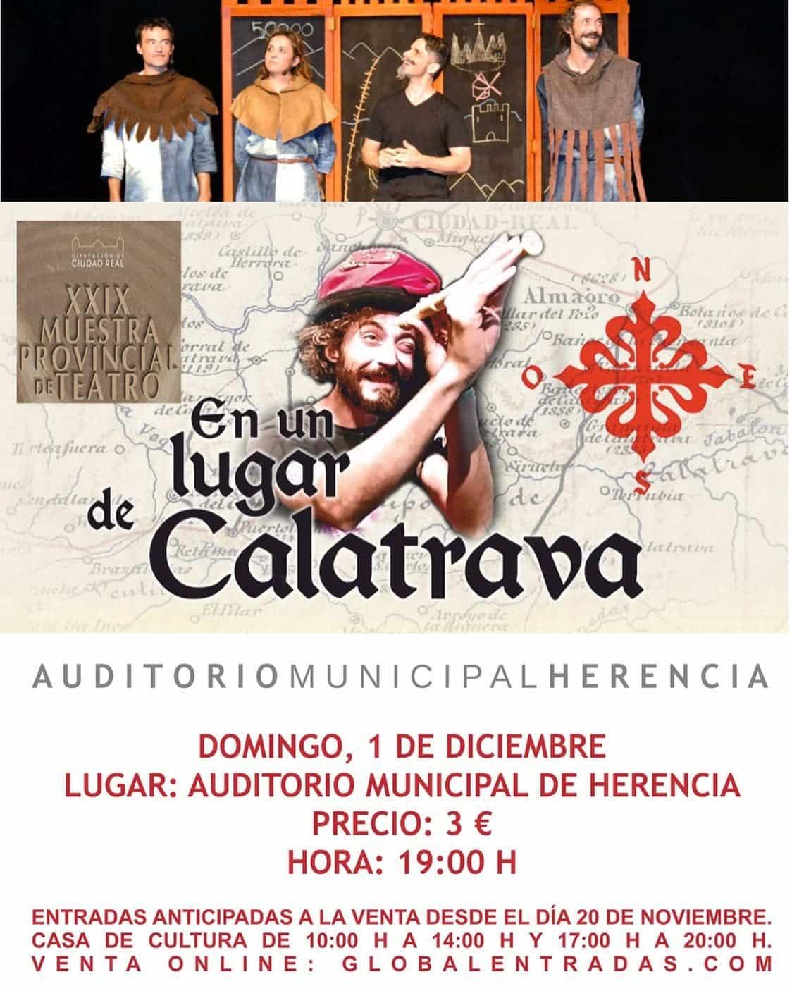 """En un lugar de Calatrava"" en gala final de la XXIX Muestra Provincial de Teatro 3"