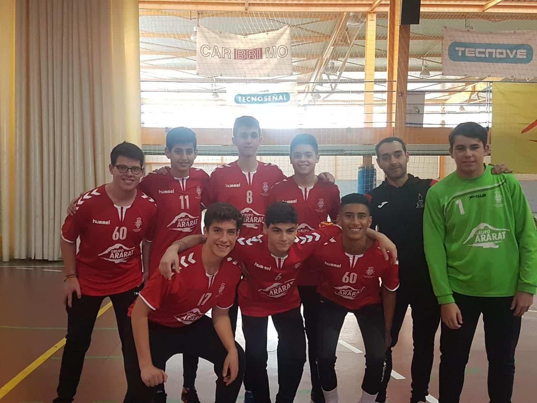 Presentación de los equipos de balonmano en Herencia 21