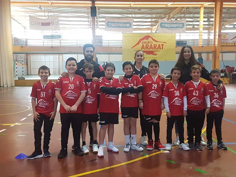 Presentación de los equipos de balonmano en Herencia 30