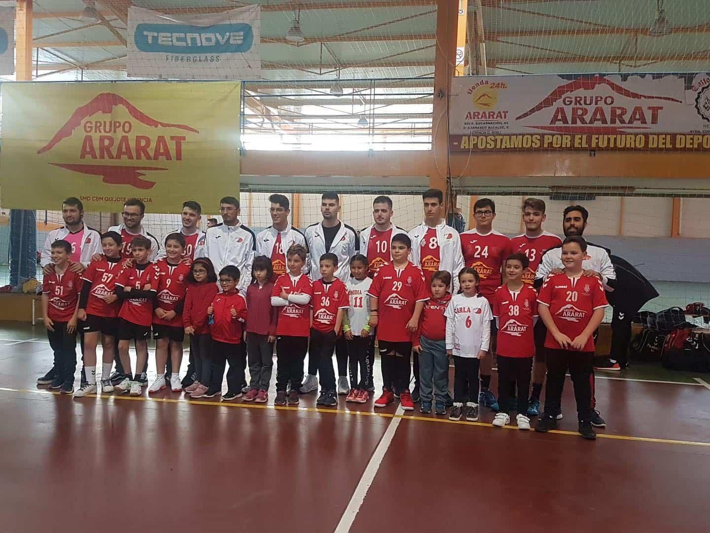 Presentación de los equipos de balonmano en Herencia 23