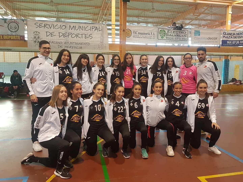 Presentación de los equipos de balonmano en Herencia 25