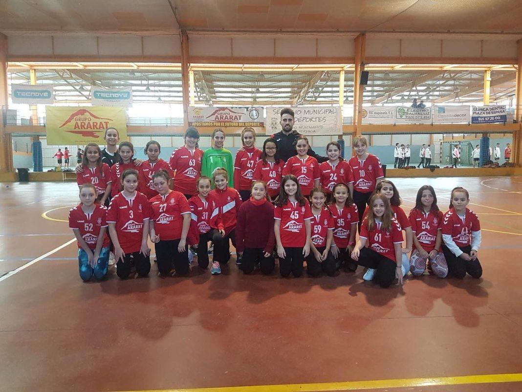 Presentación de los equipos de balonmano en Herencia 31