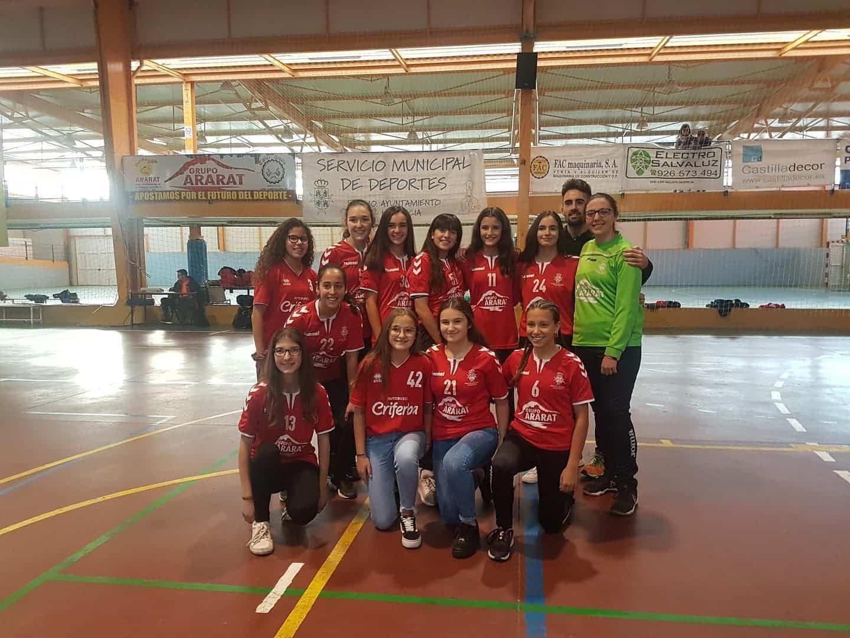 Presentación de los equipos de balonmano en Herencia 28