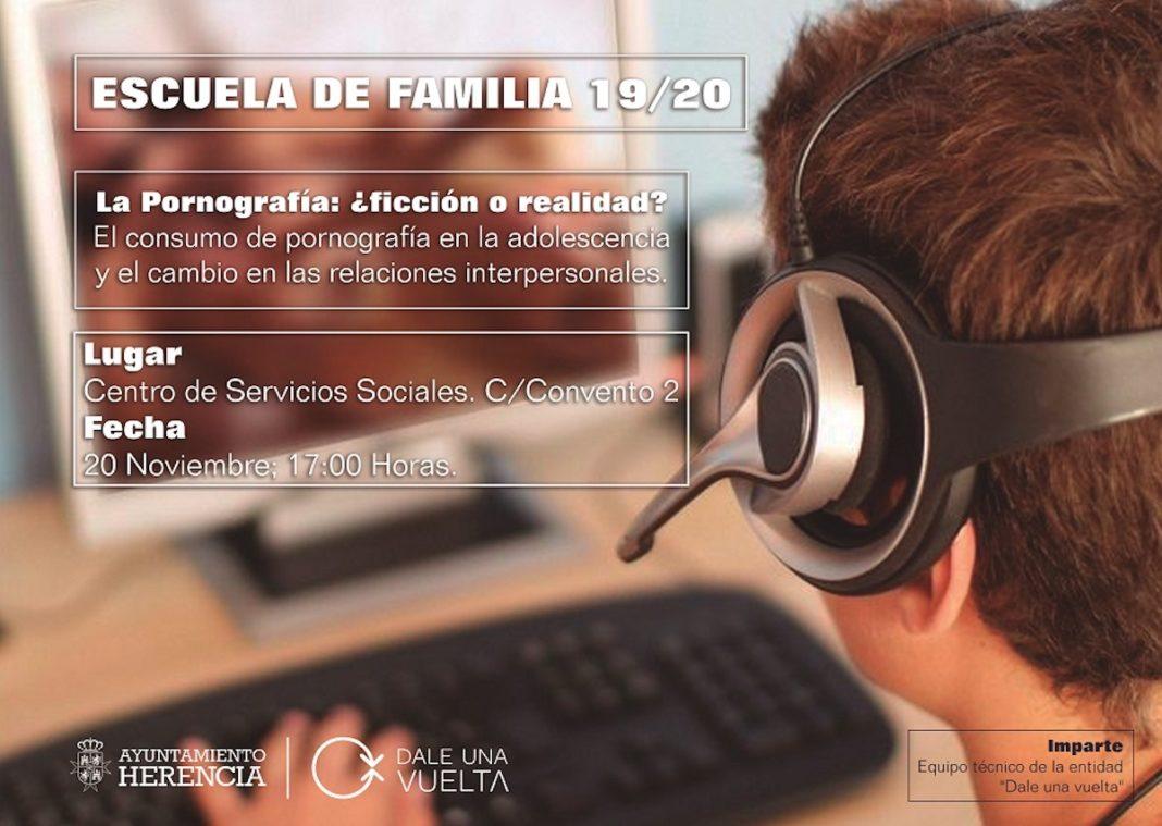 escuelas familias pornografia 1068x759 - Nueva temporada de la Escuela de Familias con adolescentes