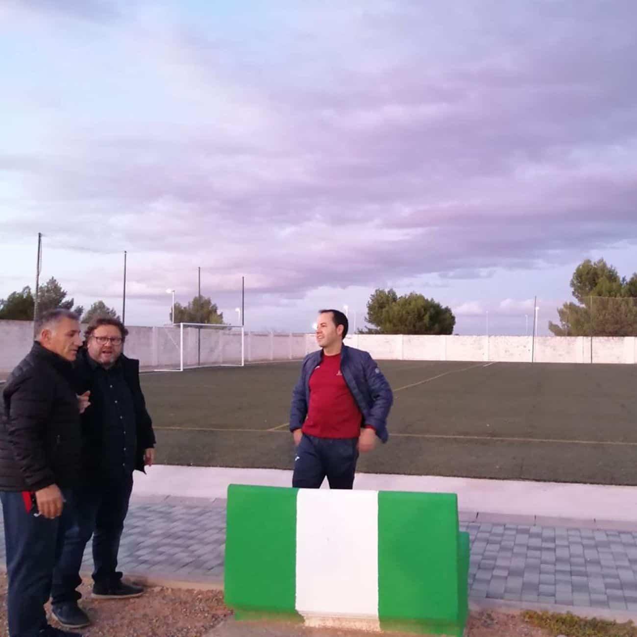 mejoras campo futbol herencia 5 - Mejoras en las instalaciones del campo de fútbol de Herencia