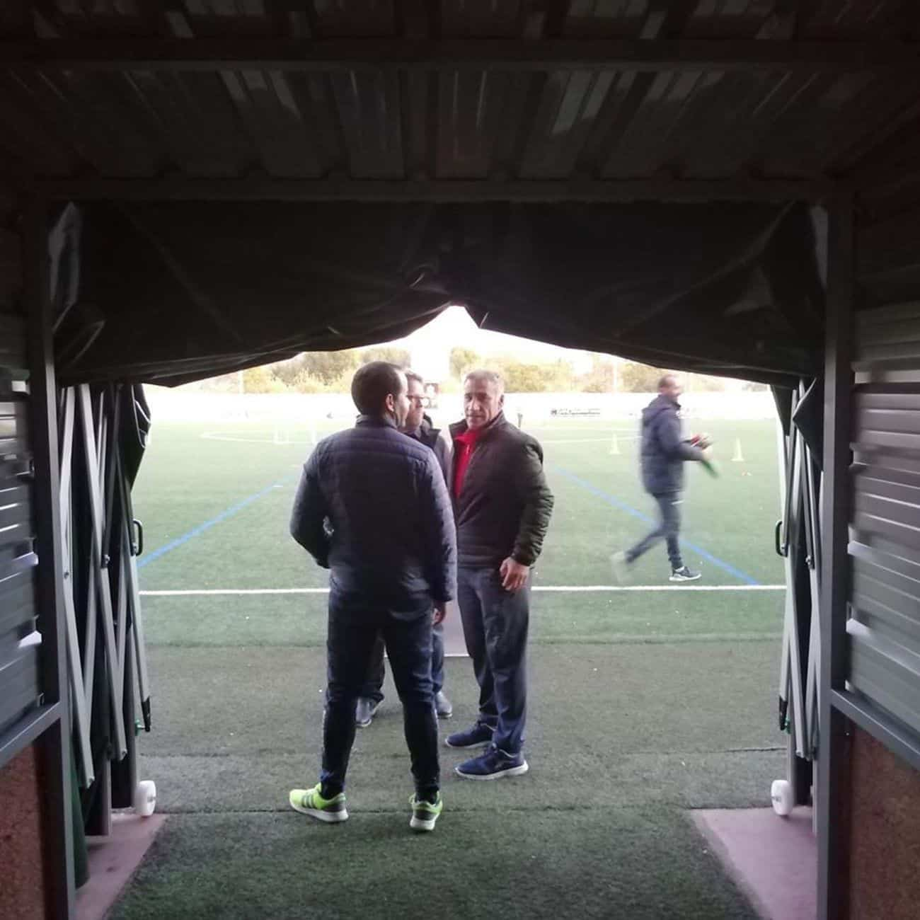 mejoras campo futbol herencia 6 - Mejoras en las instalaciones del campo de fútbol de Herencia