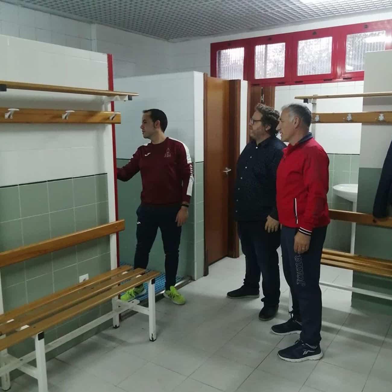 mejoras campo futbol herencia 7 - Mejoras en las instalaciones del campo de fútbol de Herencia
