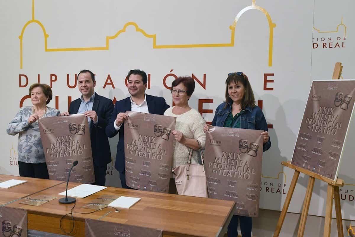 presentacion muestra provincial teatro ciudad real 1 - Seleccionadas las compañías que participan en la 29 Muestra Provincial de Teatro de la Diputación